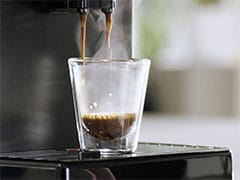 Philips Saeco-espressomachine waterige koffie