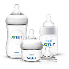 Assortiment Philips Avent Natural-babyflessen