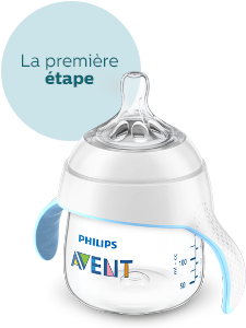 Tasses d'apprentissage Philips Avent 4 mois
