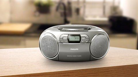Boombox, lecteur CD Philips